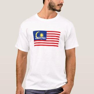 Malaysia flag souvenir tshirt