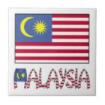 Malaysia Flag & Word