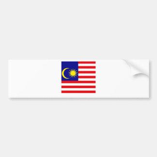 Malaysia High quality Flag Bumper Stickers