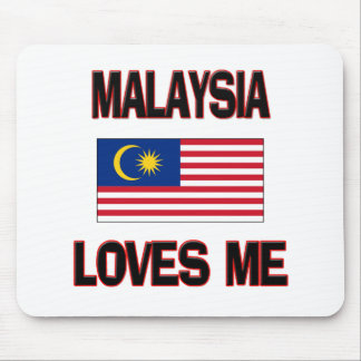 Malaysia Loves Me Mouse Pads