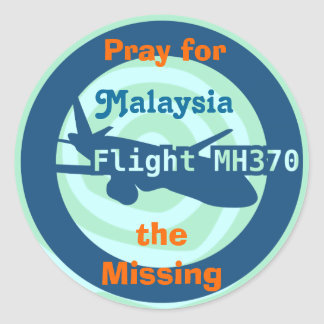 Malaysian flight sticker
