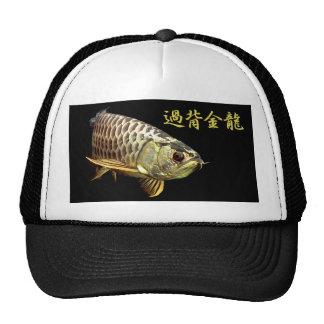 Malaysian Golden Arowana トラッカー帽子