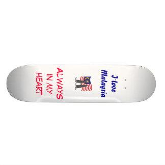 Malaysian skater 20.6 cm skateboard deck
