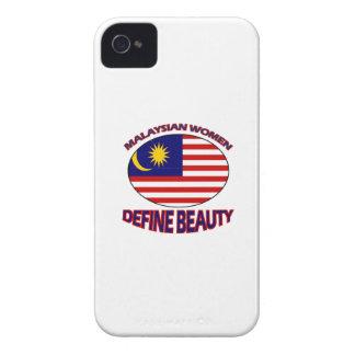malaysian women designs iPhone 4 Case-Mate case