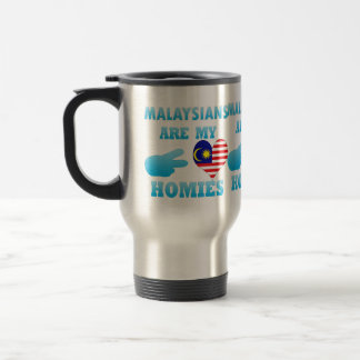 Malaysians are my Homies Stainless Steel Travel Mug