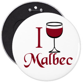 Malbec Wine Lover Gifts 6 Cm Round Badge