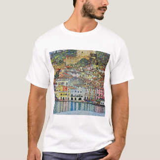 Malcesine on Lake Garda By Gustav Klimt T-Shirt