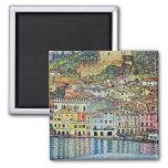 Malcesine on Lake Garda, Gustav Klimt, Vintage Art Fridge Magnets