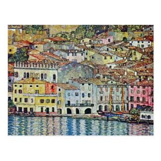Malcesine on Lake Garda Gustav Klimt Vintage Art Post Cards