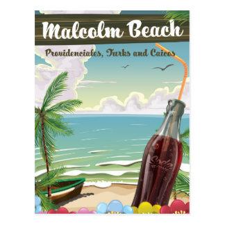 Malcolm Beach, Providenciales, Turks and Caicos Postcard