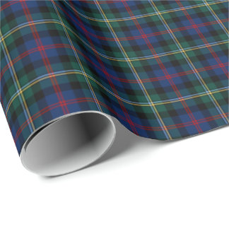 Malcolm Clan Tartan Wrapping Paper