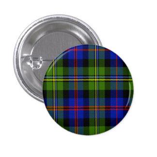 Malcolm Scottish Tartan 3 Cm Round Badge