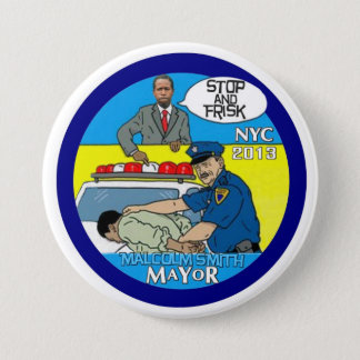 Malcolm Smith for NYC Mayor 2013 7.5 Cm Round Badge