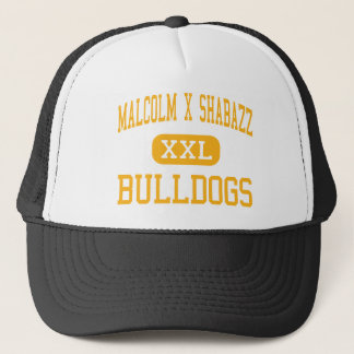 Malcolm X Shabazz - Bulldogs - High - Newark Trucker Hat