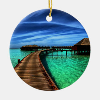 MALDIVES 2 CHRISTMAS ORNAMENT