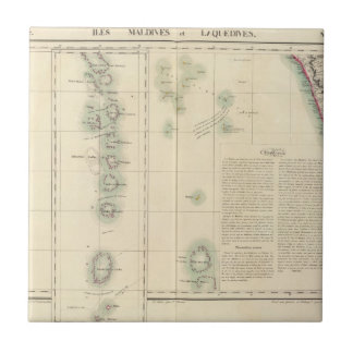 Maldives and Lakshadweep Islands Asia 107 Tile