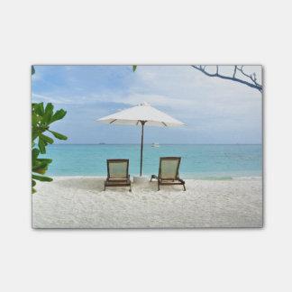 Maldives Beach Post-it Notes