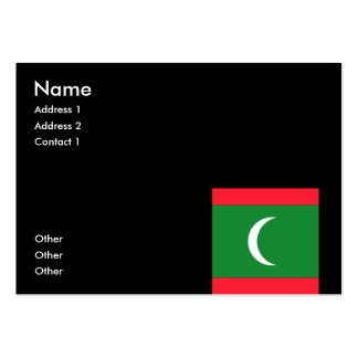 Maldives Business Card Templates