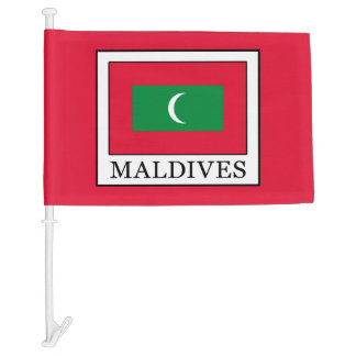 Maldives Car Flag