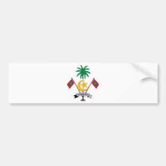 Maldives Coat of Arms Bumper Sticker