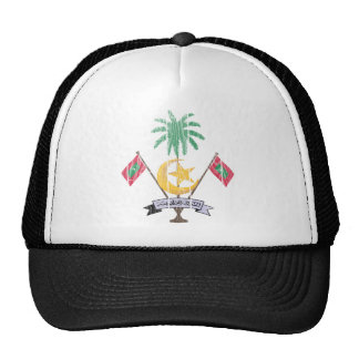 Maldives Coat Of Arms Cap