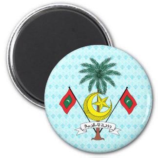 Maldives Coat of Arms detail Magnet