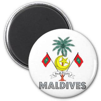 Maldives Coat of Arms Magnet