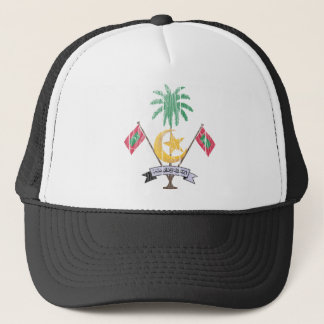 Maldives Coat Of Arms Trucker Hat