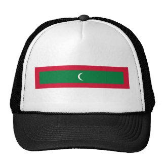 maldives country flag nation symbol cap
