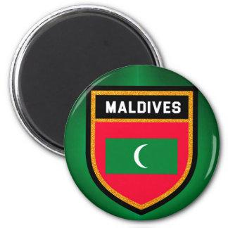 Maldives Flag Magnet