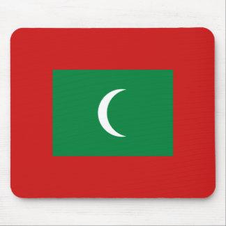 Maldives Flag Mousepad