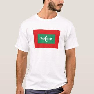 Maldives flag souvenir t-shirt
