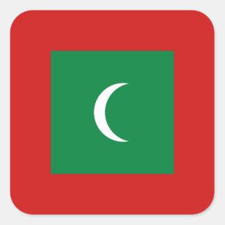 Maldives Flag Sticker