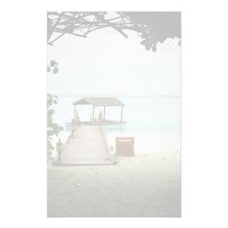 Maldives Island Boat Stationery