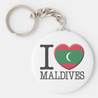 Maldives Key Ring
