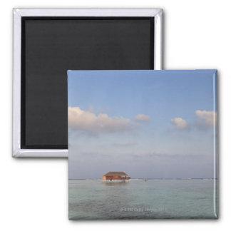 Maldives, Meemu Atoll, Medhufushi Island, luxury Square Magnet