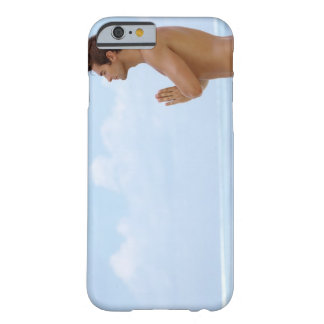 Maldives, Smart young guy practicing yoga at Barely There iPhone 6 Case