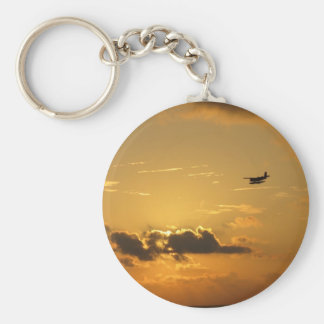 Maldives sunrise keychain