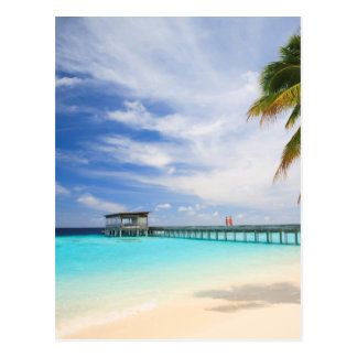 Maldivian escape postcard