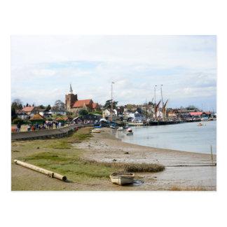 Maldon Essex from the Promenade Postcard