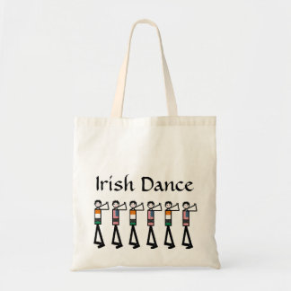 Male American Irish Dancers on a bag