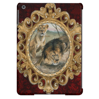 Male and Female Lion iPad Air Cases