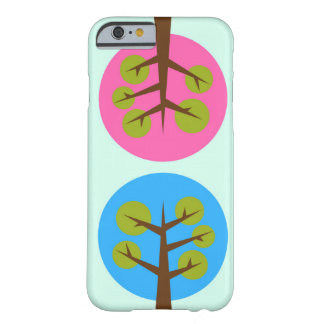 Male and female trees barely there iPhone 6 case
