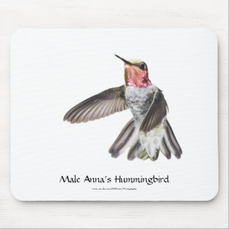 Male Anna's Hummingbird Mousepad