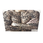 Male Body Tattoo Photograph Canvas Print