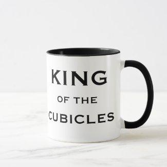 Male Boss Funny Joke Nickname King of Cubicles