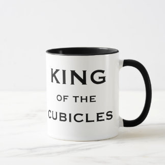 Male Boss Funny Nickname - King of the Cubicles Mug