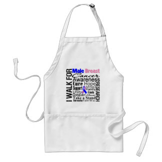 Male Breast Cancer Awareness Walk Standard Apron