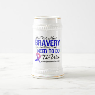 Male Breast Cancer Battle Beer Steins