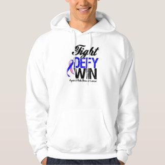Male Breast Cancer Fight Defy Win Sweatshirts
